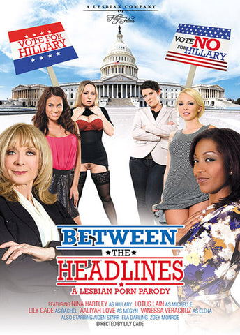 Cheap Between The Headlines porn DVD