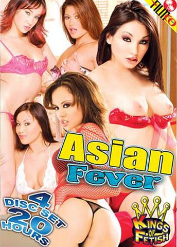 Asian Fever (4 Disc Set) Porn DVD