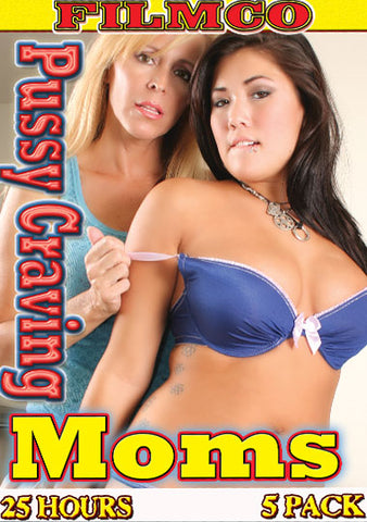 Cheap 25 Hr 5 Pk Pussy Craving Moms (5 Disc Set) porn DVD