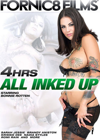 All Inked Up XXX Adult DVD