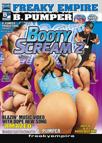 Cheap Booty Scream 2 porn DVD