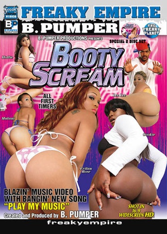 Cheap Booty Scream 1 porn DVD