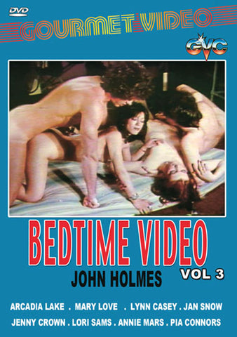 Cheap Bedtime Video Vol 3 John Holmes porn DVD