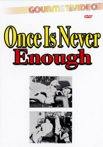 One Is Never Enough Adult DVD