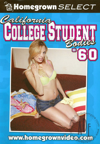 Cheap California College Student Bodies 60 porn DVD