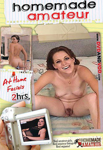At Home Facials Adult DVD