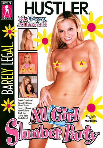 Barely Legal: All Girl Slumber Party 1 Adult Sex DVD