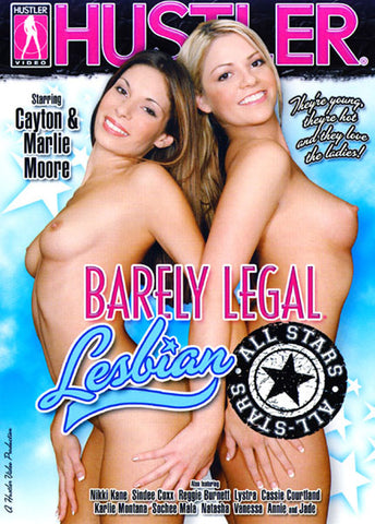 Cheap Barely Legal Lesbian All Stars porn DVD