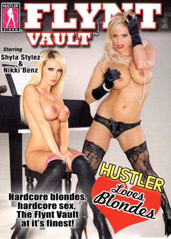 Cheap Flynt Vault: Hustler Loves Blondes porn DVD