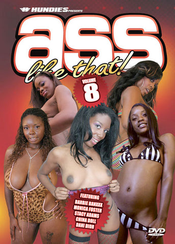 Ass Like That 8 Porn DVD