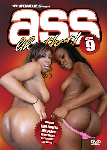 Ass Like That 9 Porn DVD