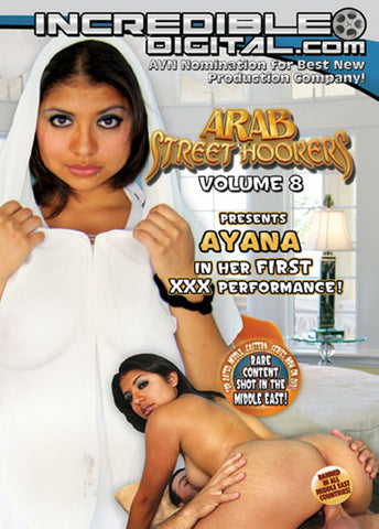 Cheap Arab Street Hookers 8 porn DVD