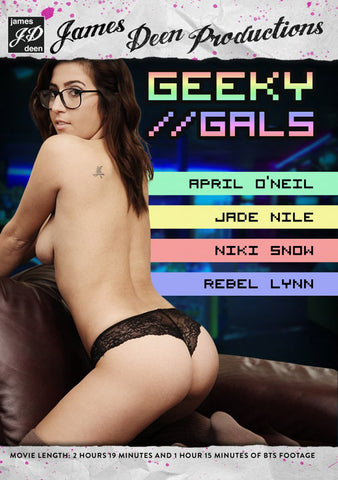 Geeky Girls XXX Adult DVD