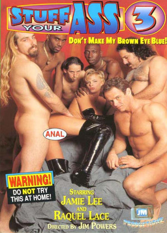 Stuff Your Ass 3 Porn DVD