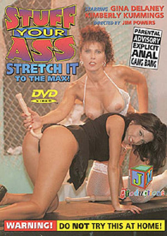 Stuff Your Ass 1 Porn DVD