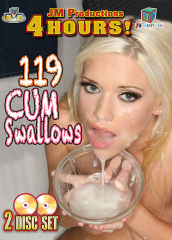 119 Cum Swallows (2 Disc Set) Adult Sex DVD
