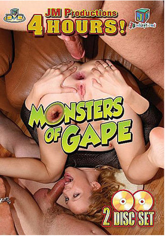 Cheap Monsters Of Gape (2 Disc) porn DVD