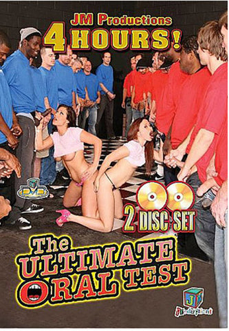 Cheap The Ultimate Oral Test (2 Disc Set) porn DVD