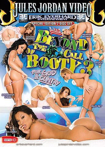 Cheap Beyond The Call Of Booty 3 (2-Disc) porn DVD