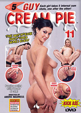 5 Guy Cream Pie 11 XXX Adult DVD