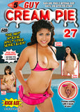 5 Guy Cream Pie 27 XXX Adult DVD