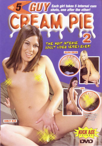 5 Guy Cream Pie 2 XXX Adult DVD