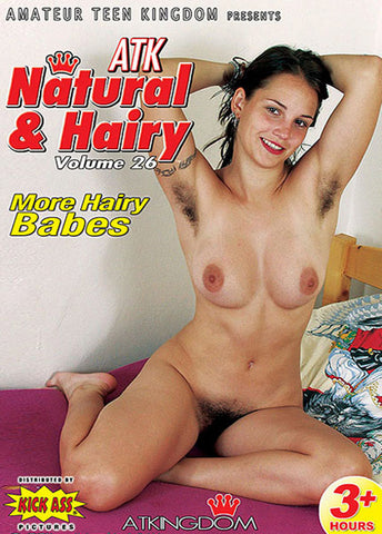 ATK Natural & Hairy 26 XXX DVD