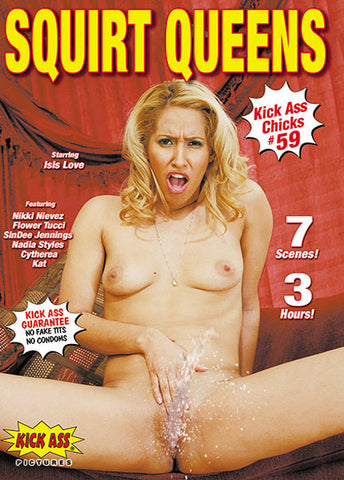 Cheap Squirt Queens porn DVD
