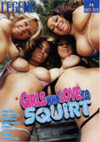 Girls Who Love To Squirt Adult Sex DVD