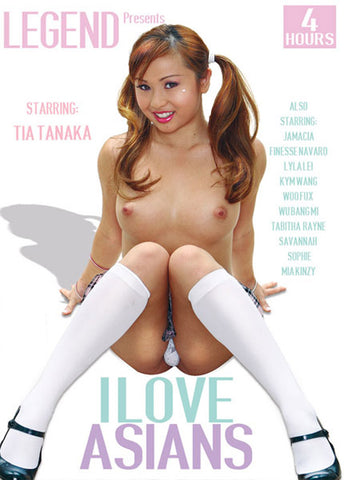 I Love Asians Sex DVD