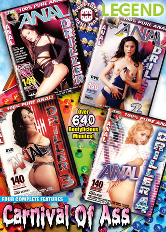 Cheap Carnival Of Ass 1 (4 Disc Set) porn DVD