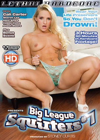 Big League Squirters 7 Adult Movies DVD