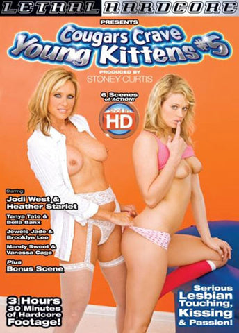 Cheap Cougars Crave Young Kittens 5 porn DVD