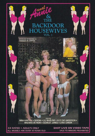 Cheap Anal Annie & The Backdoor Housewives porn DVD