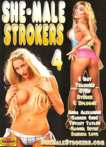 Cheap She-Male Strokers 4 porn DVD