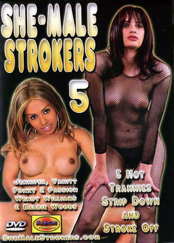 Cheap She-Male Strokers 5 porn DVD