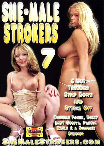 Cheap She-Male Strokers 7 porn DVD