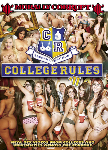 Cheap College Rules 11 porn DVD