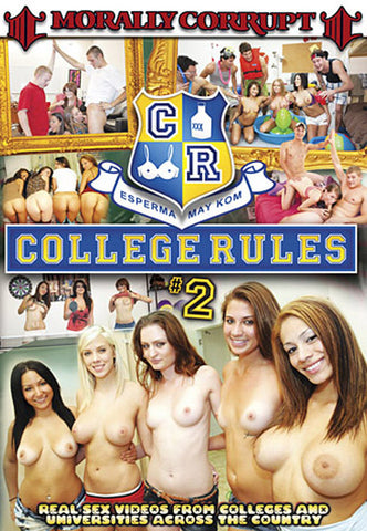 Cheap College Rules 2 porn DVD