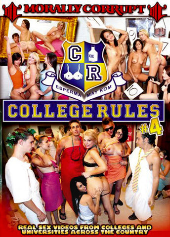 Cheap College Rules 4 porn DVD