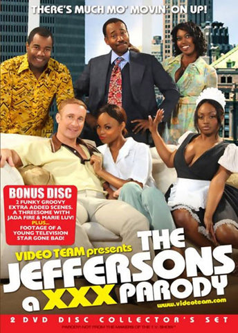 The Jeffersons A XXX Parody (2 Disc Set) Adult Movies DVD