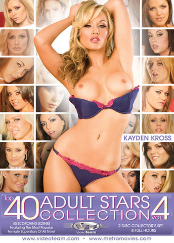 Cheap Top 40 Adult Stars Collection 4 porn DVD