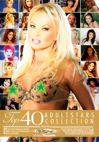 Top 40 Adult Stars Collection 1 (2 Disc Set) Adult Sex DVD