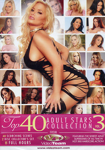 Top 40 Adult Stars Collection 3 (2 Disc Set) Adult Sex DVD