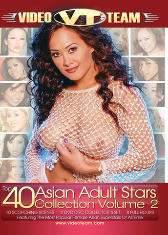 Top 40 Asian Adult Stars Collection 2 (2 Disc Set) Adult Sex DVD