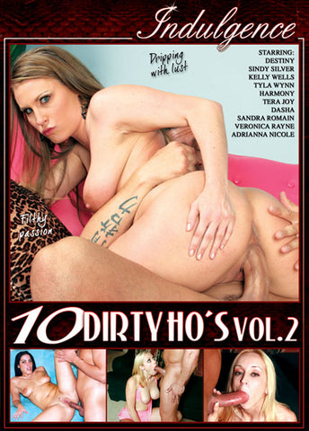 Cheap 10 Dirty Ho's 2 porn DVD