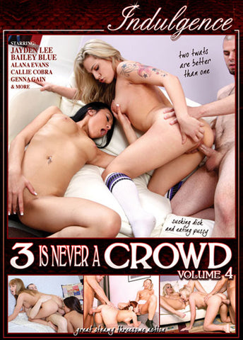 Cheap 3 Is Never A Crowd 4 porn DVD