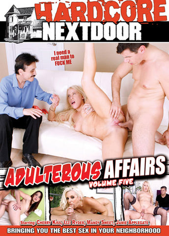 Adulterous Affairs 5 Sex DVD
