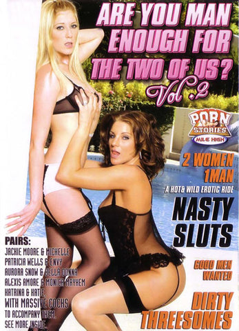 Are You Man Enough For The Two Of Us 2 Porn DVD