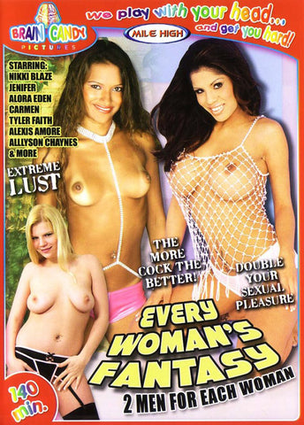 Every Woman's Fantasy Porn DVD
